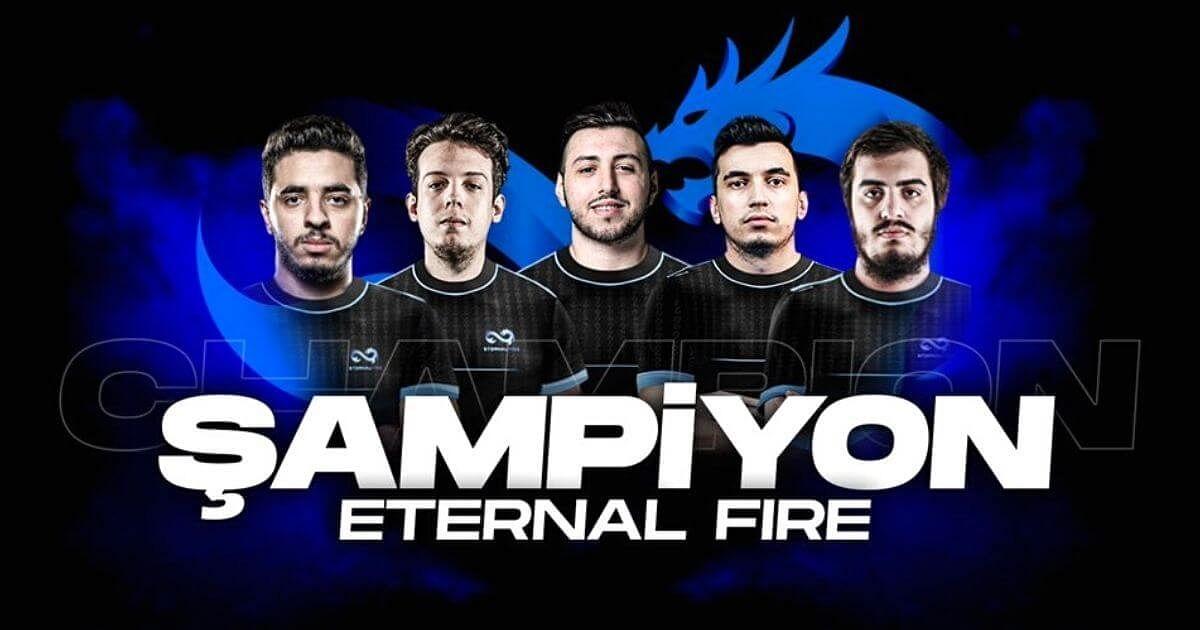 Turkish Super Team Eternal Fire To Compete in BLAST Fall Showdown Qualifiers