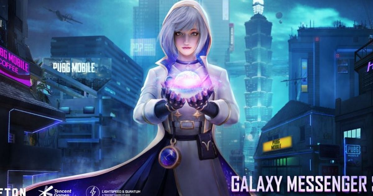 The Galaxy Messenger set will be available for players to claim as a free BGMI reward till 19th August 2021.