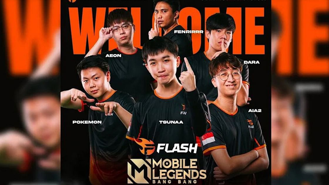 Team Flash Returns to Mobile Legends Esports for MPL SG Season 2 After Three-Year Hiatus