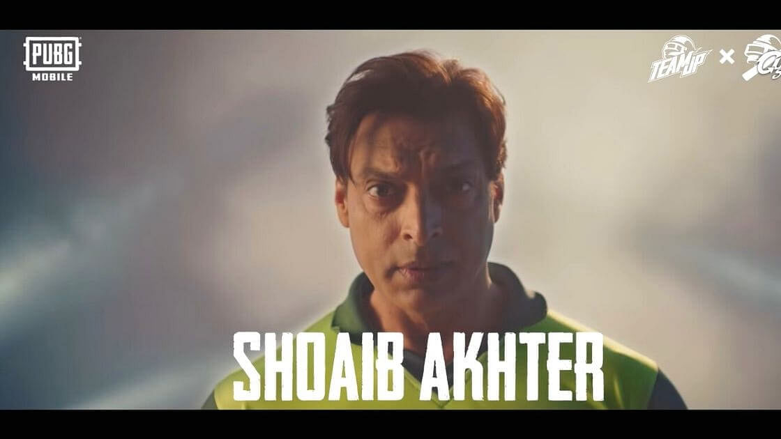 Cricketing Legend Shoaib Akhtar To Soon Feature In PUBG Mobile