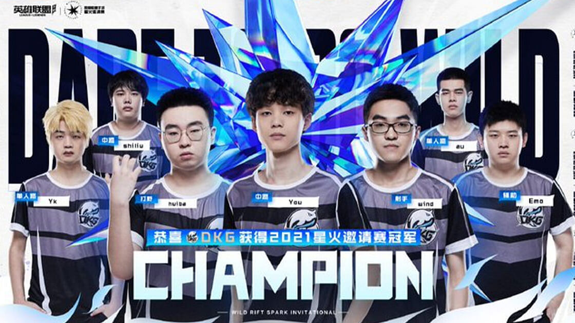 Da Kun Gaming Won Wild Rift Spark Invitational 2021 and is the First Team to Qualify to World Championship 2021