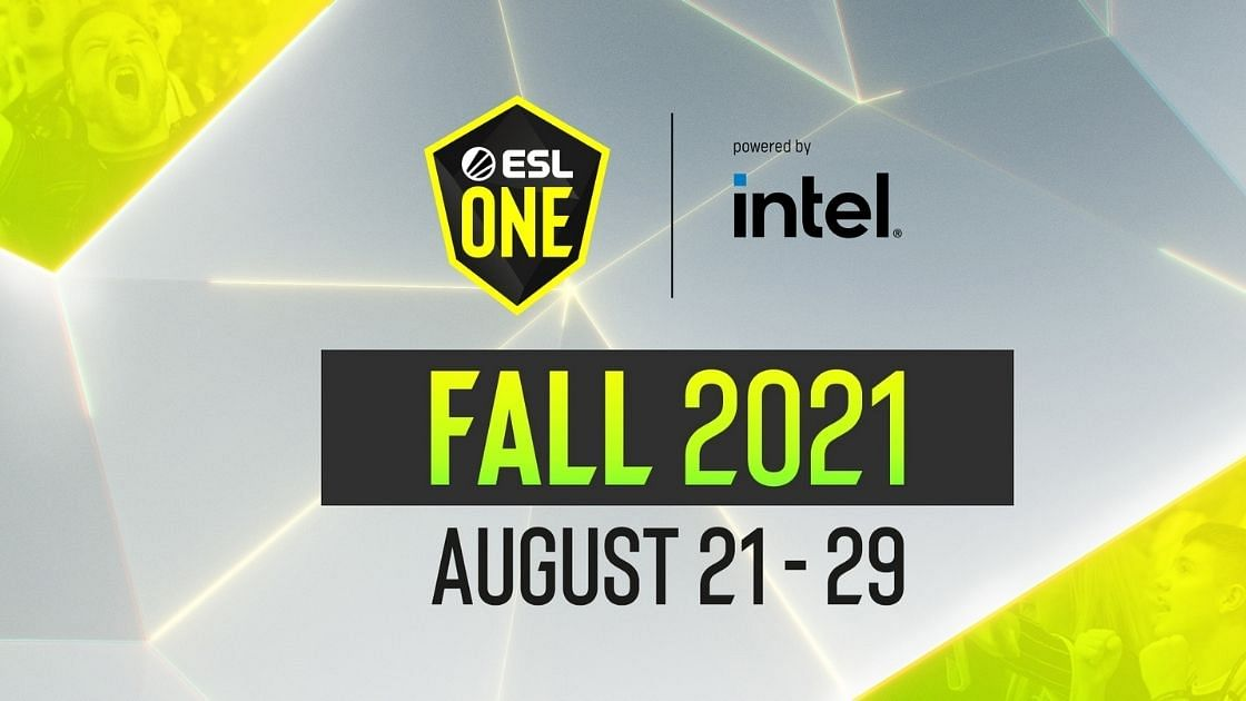 Teams have been finalized for theESL One Fall 2021: Bootcamp Edition.