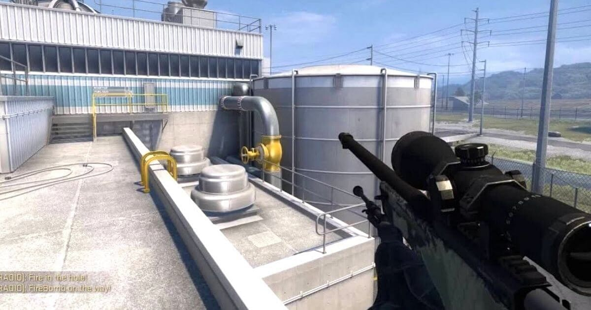 CS:GO Player Hits An Improbable No Scope From B To A On Nuke