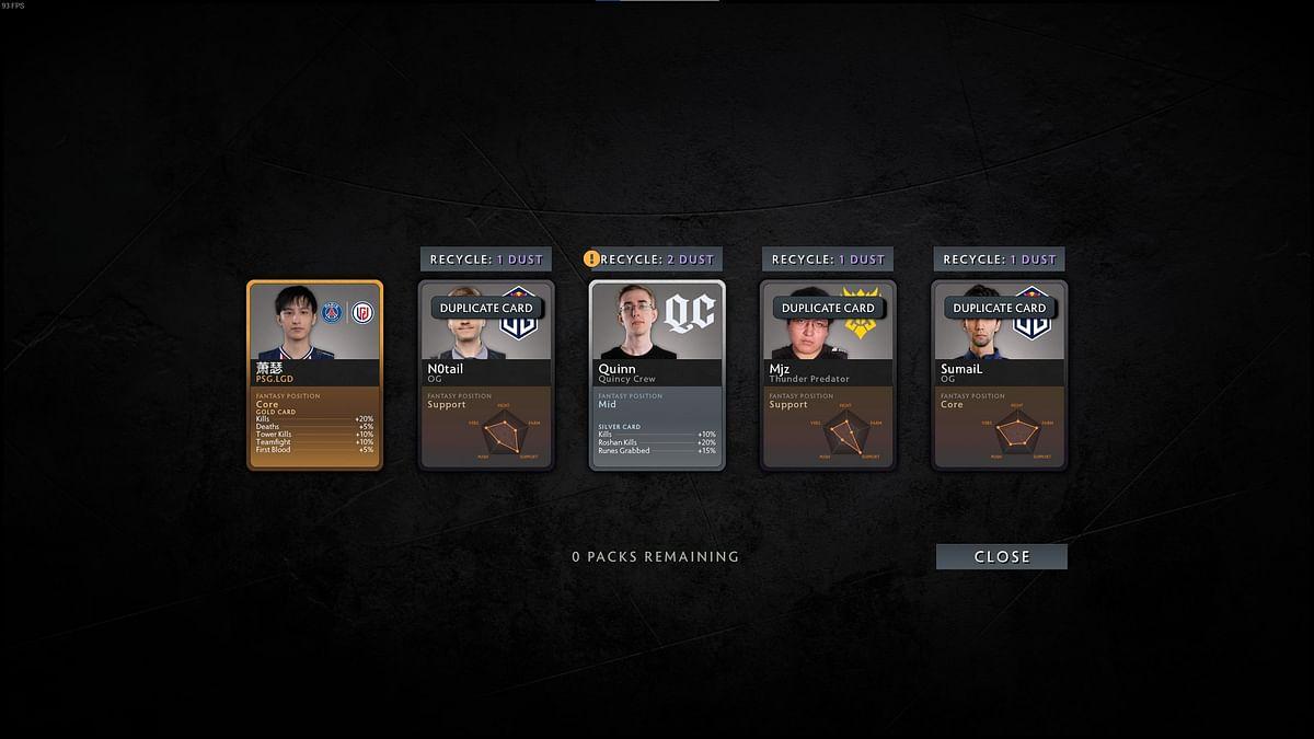 dota 2 player card
