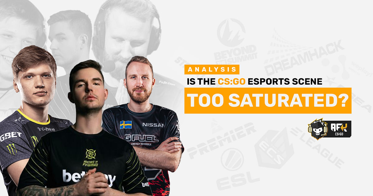 Analysis: Is The CS:GO Esports Scene Too Saturated