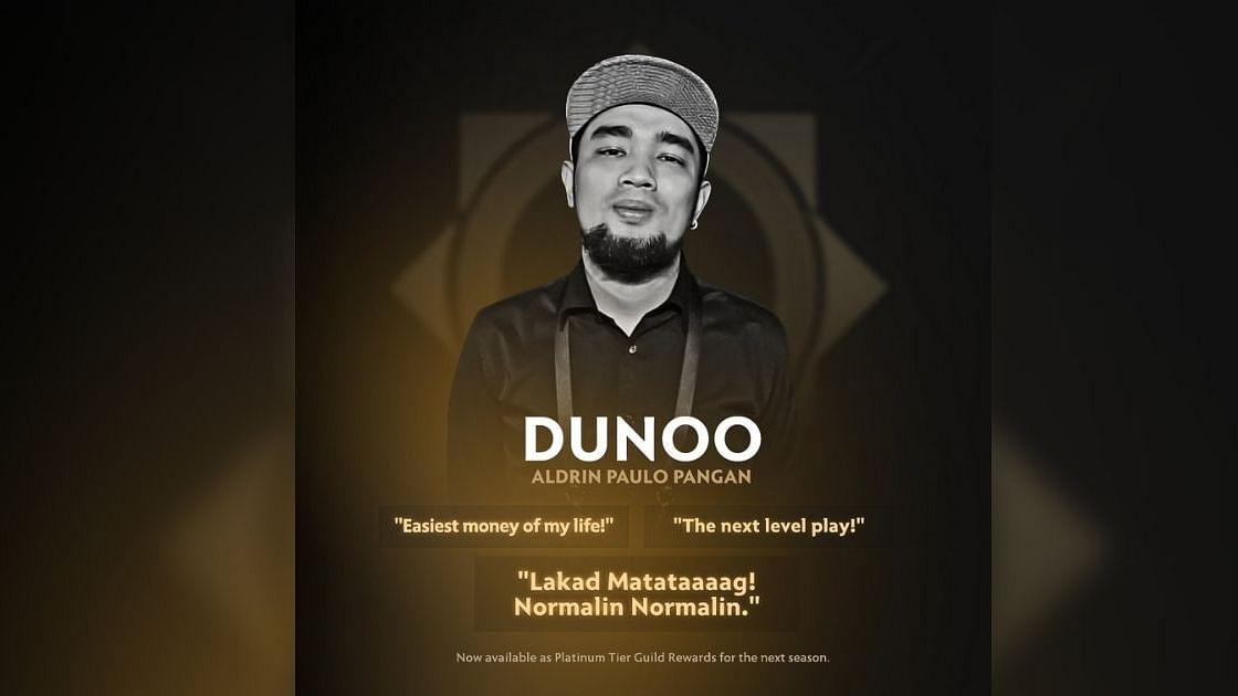 Valve honors Dunoo