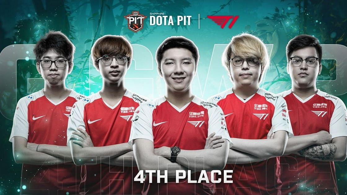 T1 finished fourth in theSapphire OGA Dota PIT Invitational
