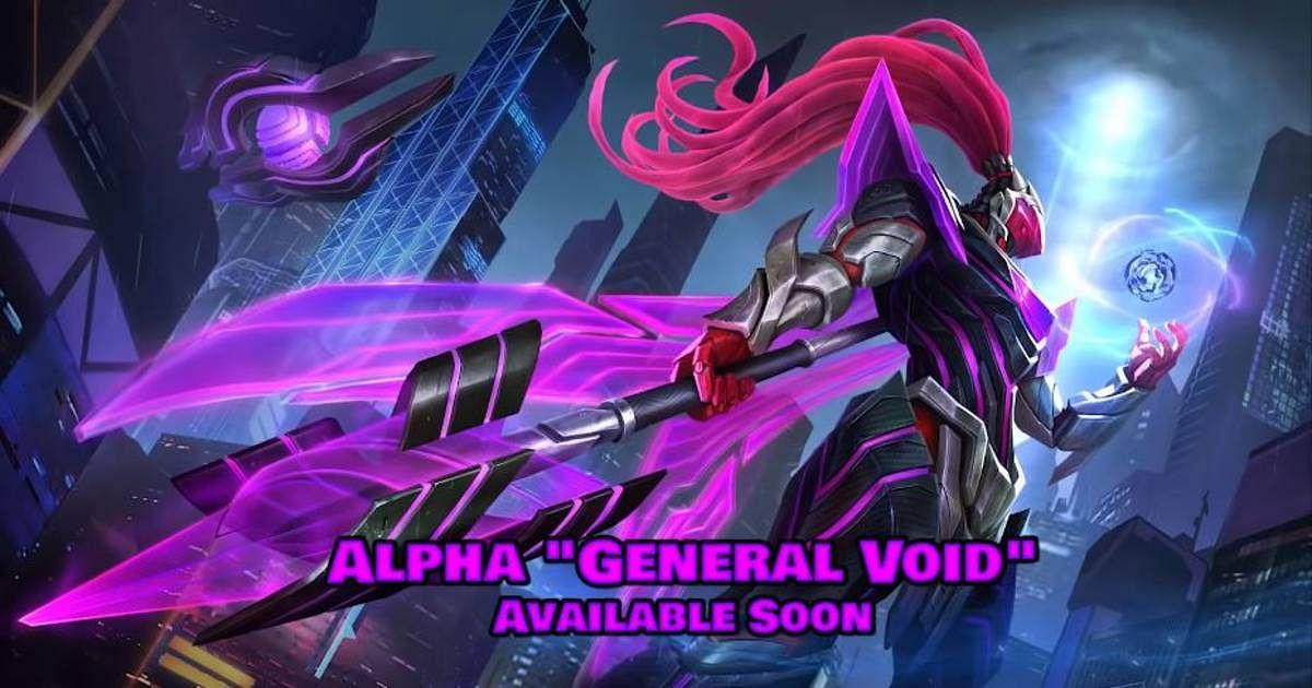 """First Mobile Legends Supervillain Skin Alpha """"General Void"""" Revealed"""