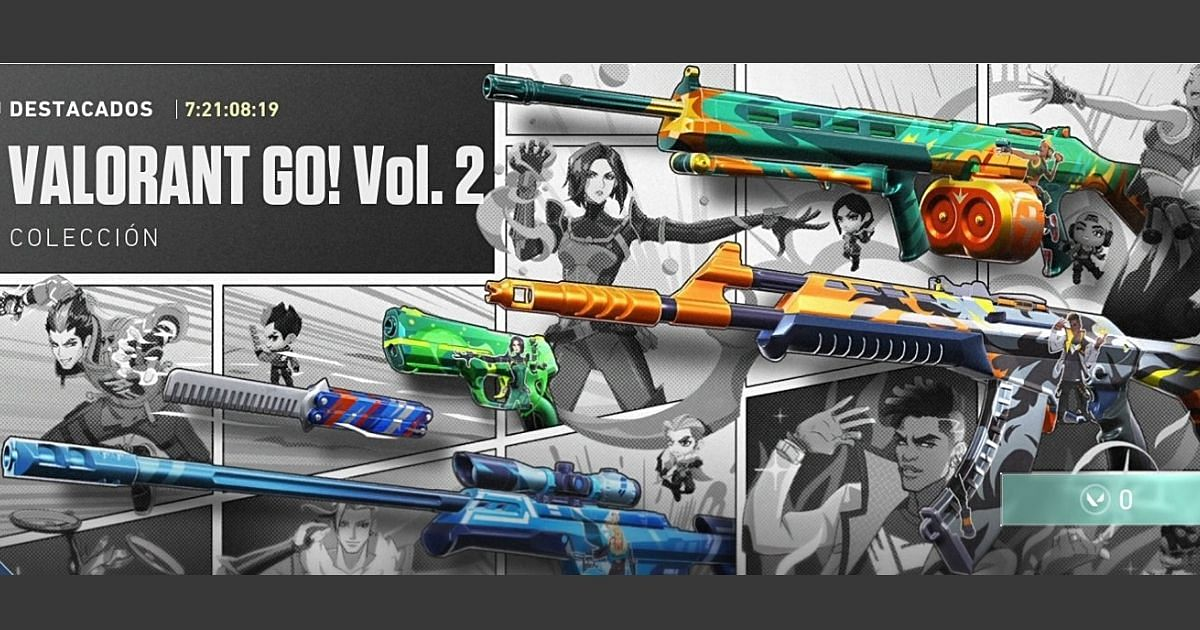 Valorant Go! Vol. 2 is set to release soon in the Valorant in-game store.