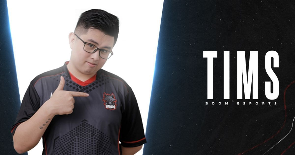 Tims in BOOM Esports colors