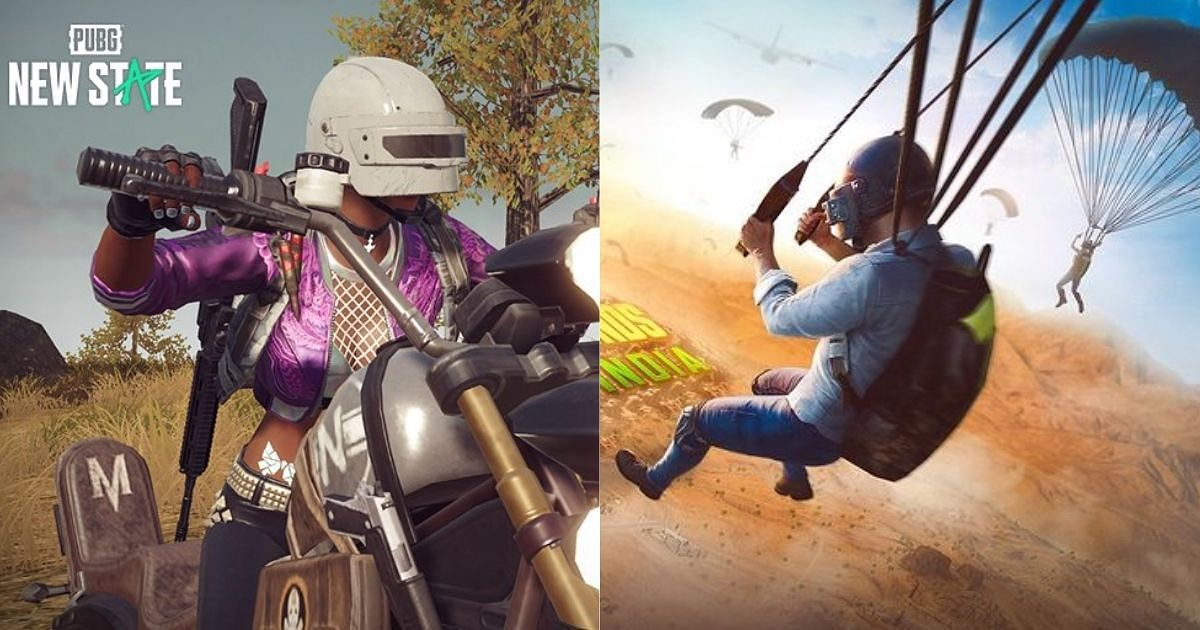 Some of the major differences between PUBG: New State and BGMI include new weapons, a new storyline, and vehicles.
