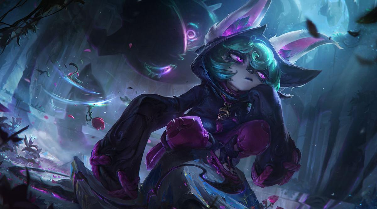 Vex Splash Art - League of Legends