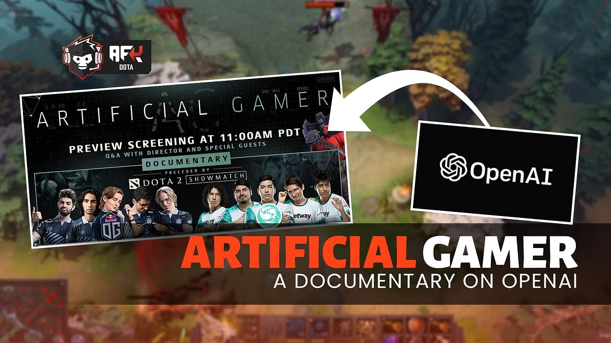 """In 2019, OpenAI had pitted its Dota 2 bots named """"OpenAI Five"""" against OG in a show match."""