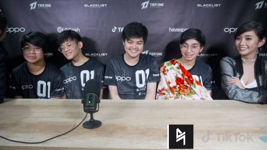 Blacklist International Founders Tryke and Alodia Praises Team for Its Undefeated Run in the MPL PH Season 8