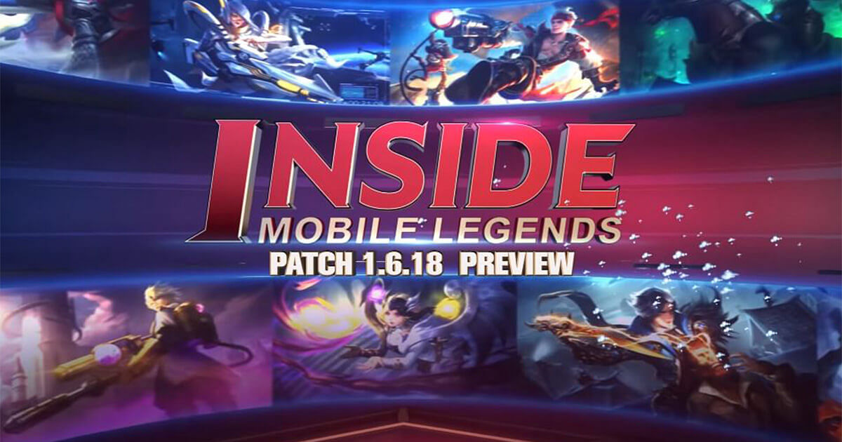 Mobile Legends: Patch 1.6.18 Patch Preview