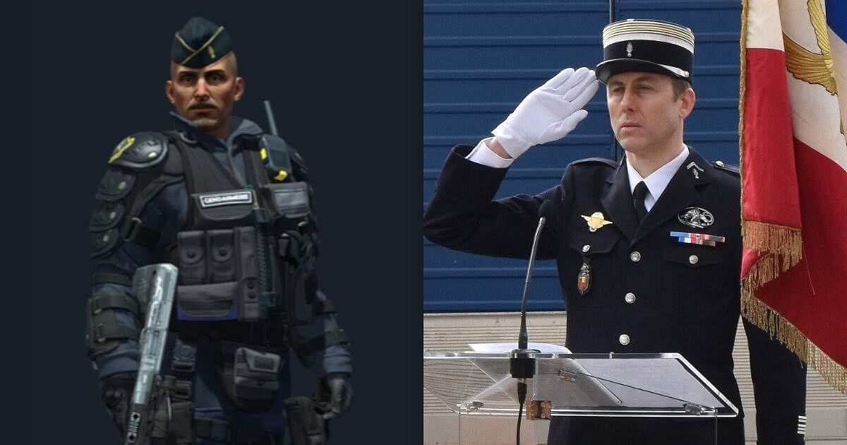 New CS:GO Agent Released With Operation Riptide Based On French Martyr