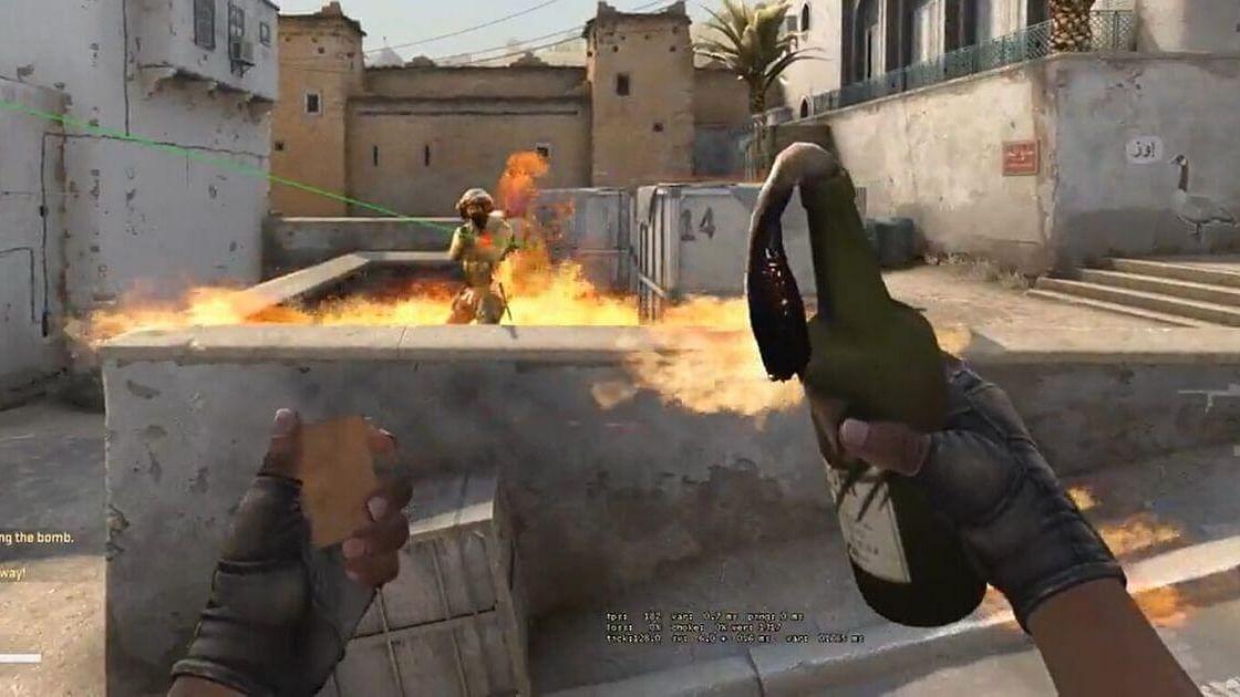 CS:GO User Finds 200 IQ No Peek A-Site Molotov Lineup On Dust 2