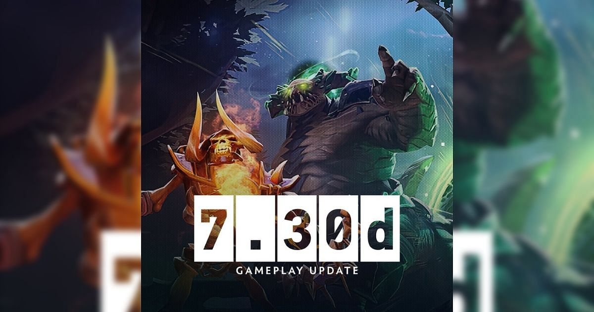 The Dota 2 patch 7.30d is out