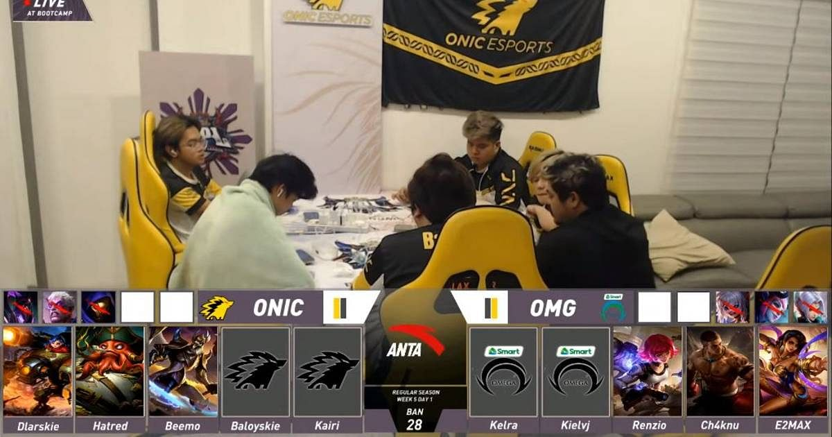 Omega Esports Disheartened About the Redraft During ONIC PH Match in MPL PH Season 8 Week 5