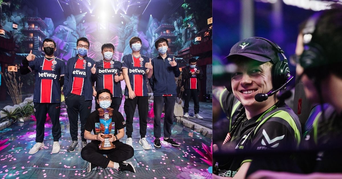 NothingToSay was a crucial part of PSG.LGD's championship run at the WePlay AniMajor