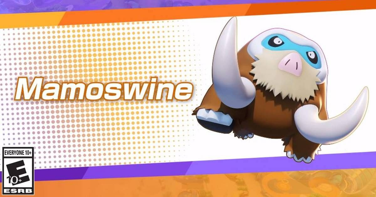 Mamoswine is now available in Pokémon UNITE