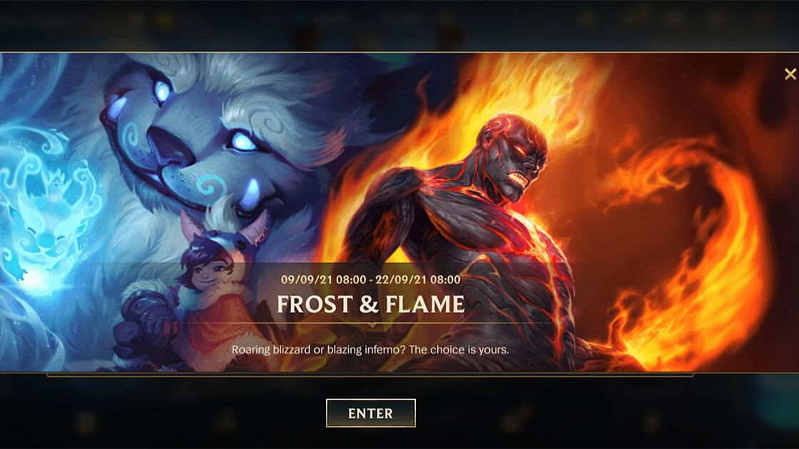 Wild Rift Frost and Flame Event is Now Live Featuring Two New Champions