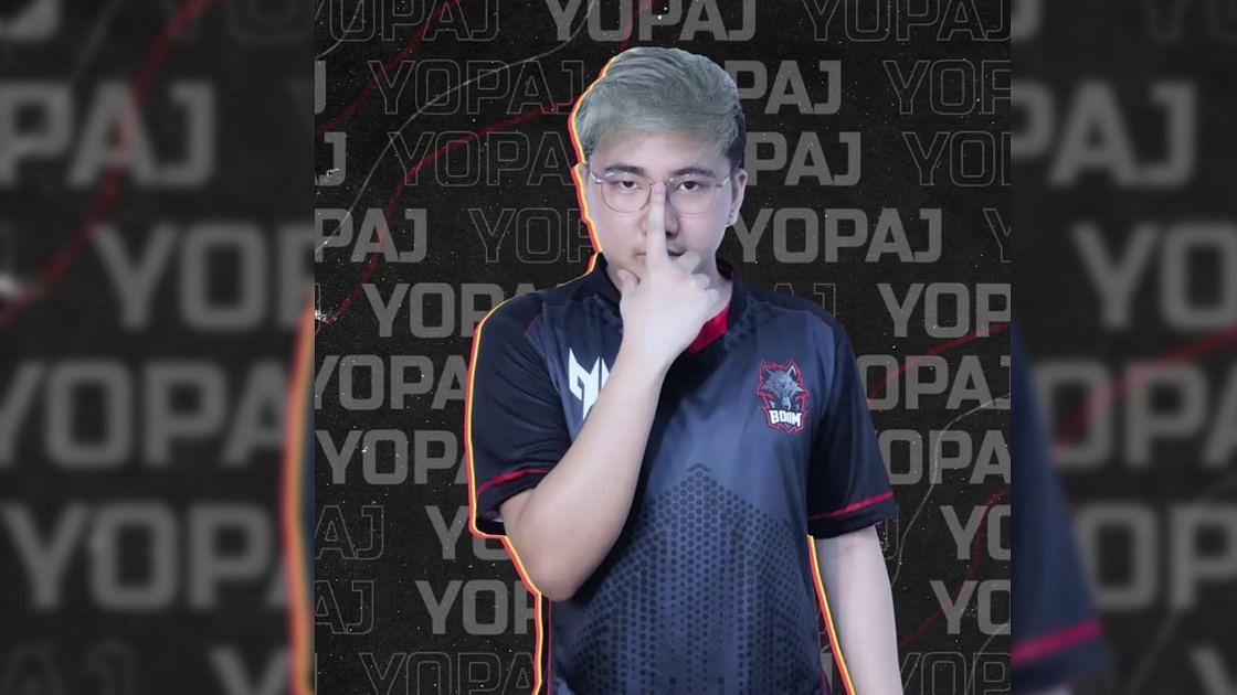 Yopaj in BOOM Esports colors
