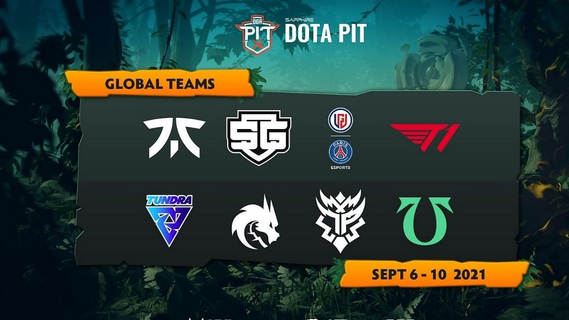Sapphire OGA Dota PIT's schedule is out