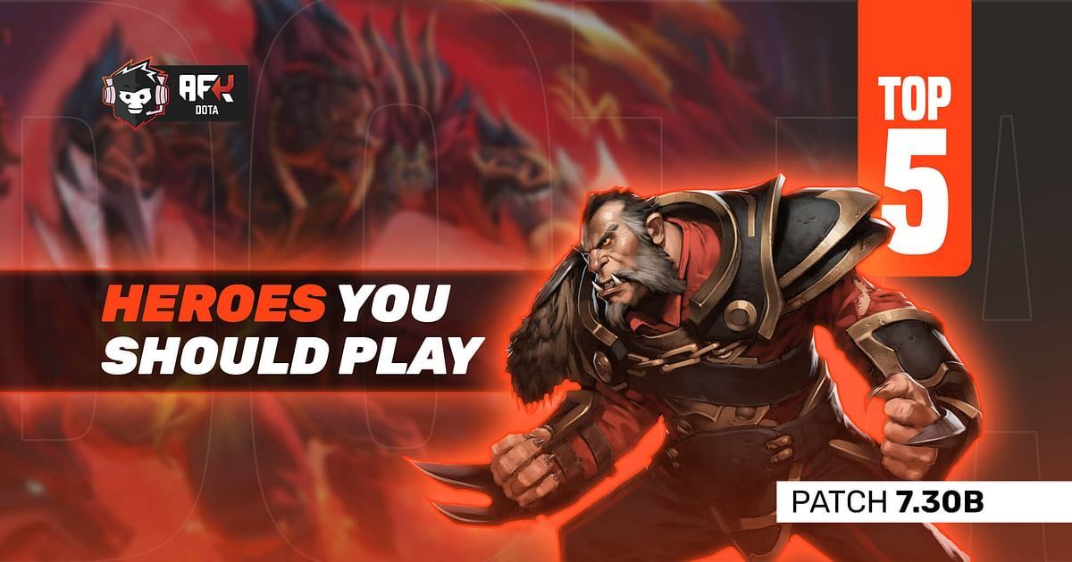 Top Five Dota 2 Heroes You Should Play in Your Pubs
