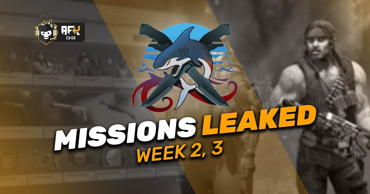 Operation Riptide CS:GO Week 2 And 3 Missions Leaked