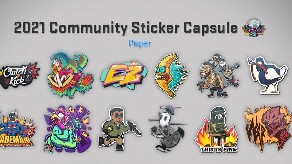 CS:GO Community Upset As Valve Releases Old Workshop Content In 2021 Sticker Capsule