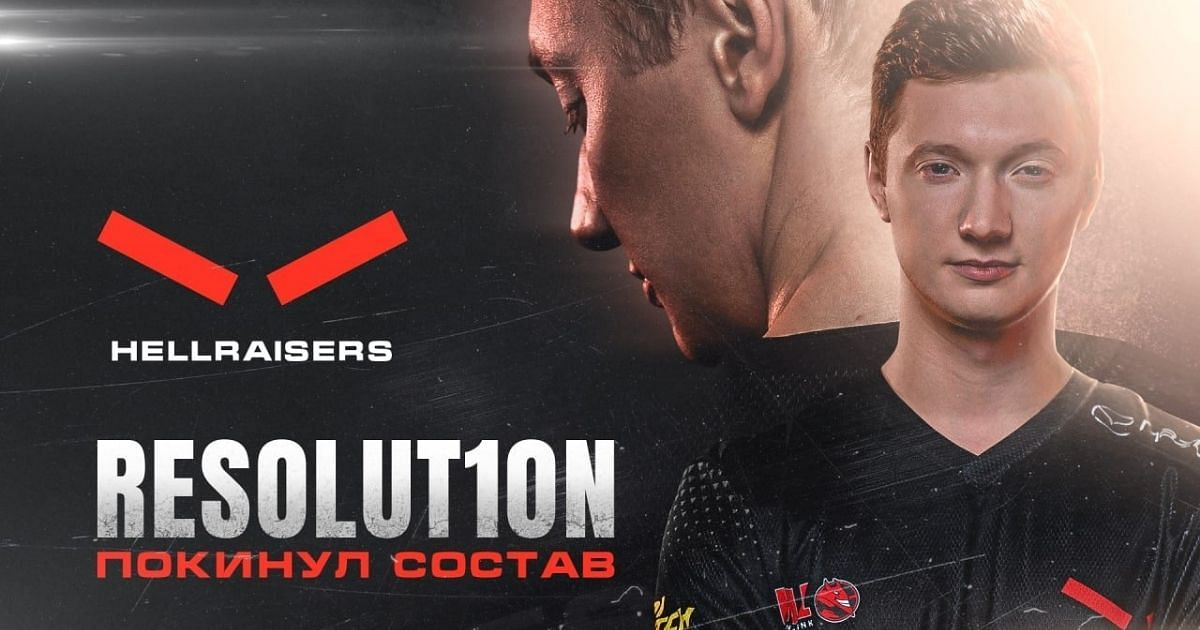 Resolut1on was the captain of HellRaisers' Dota 2 roster.