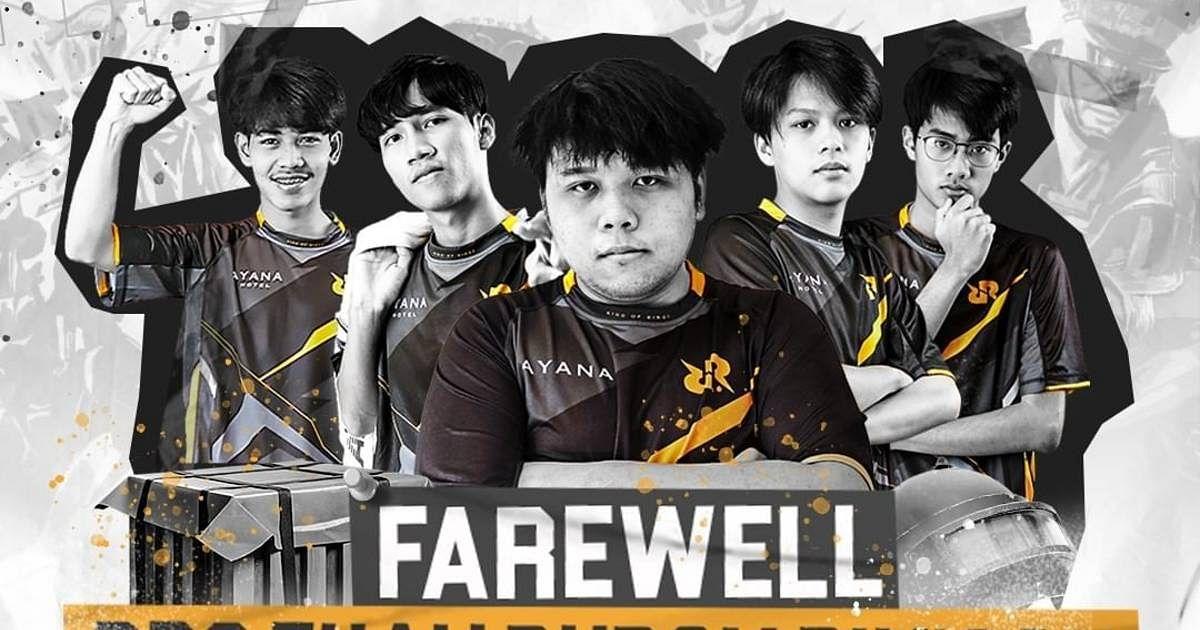 RRQ Disbands Thailand PUBG Mobile Team Roster