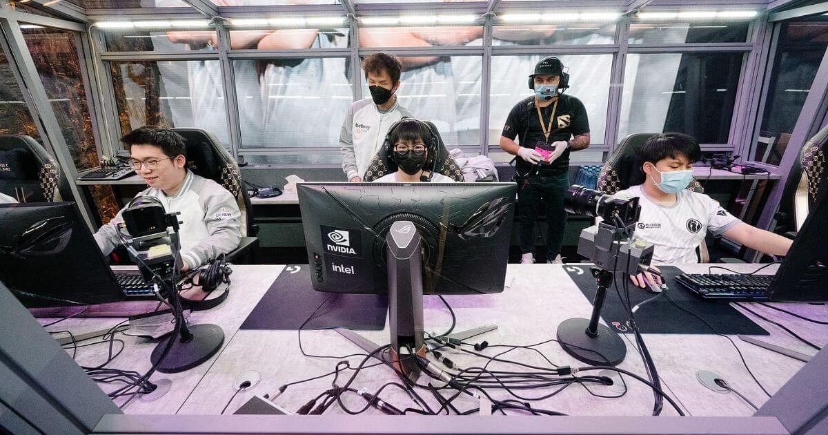 Invictus Gaming at TI10
