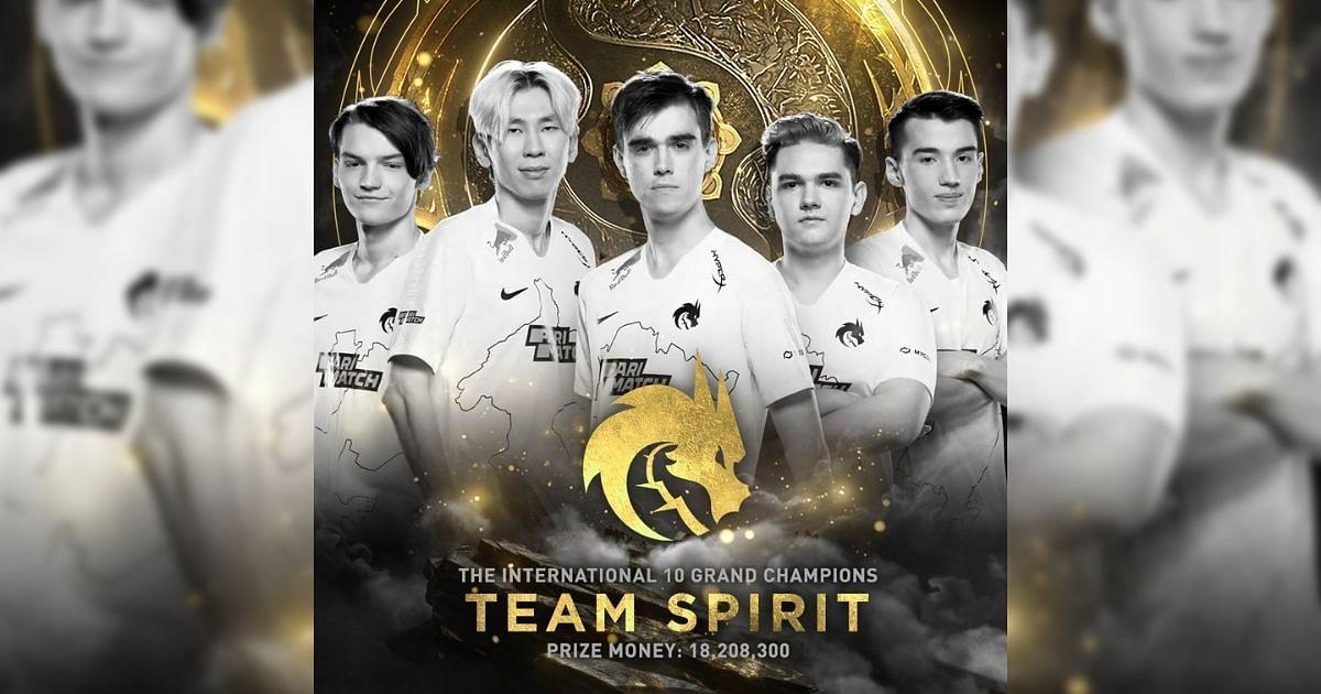 Team Spirit win$18,208,300 USD