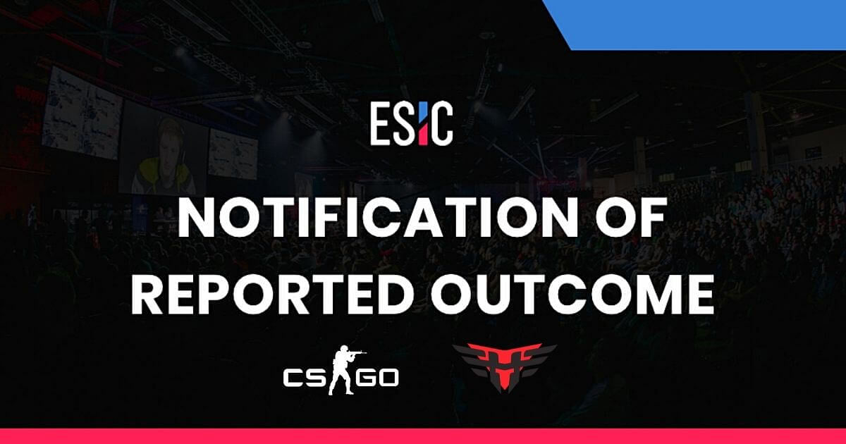 ESIC Concludes Investigation Alleging The Involvement Of Heroic Players In The Spectator Bug Abuse