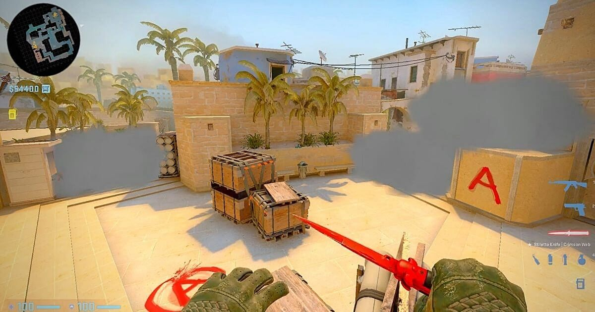 Brilliant One Man Mirage A-Site Execute From A Single Spot