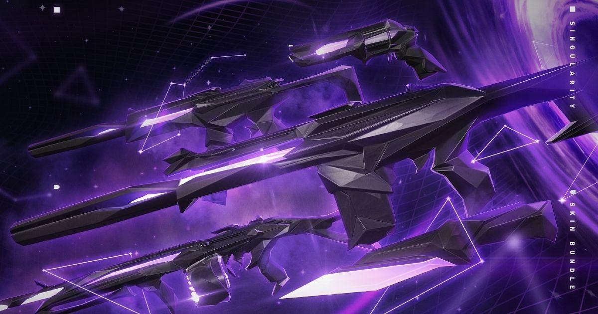 Singularity Phantom is one of theBest Phantom Skins for Valorant in October 2021