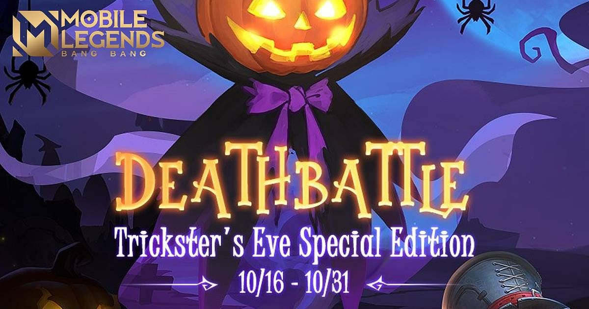 Mobile Legends Reveals Deathbattle Trickster's Eve Special Edition Game Mode