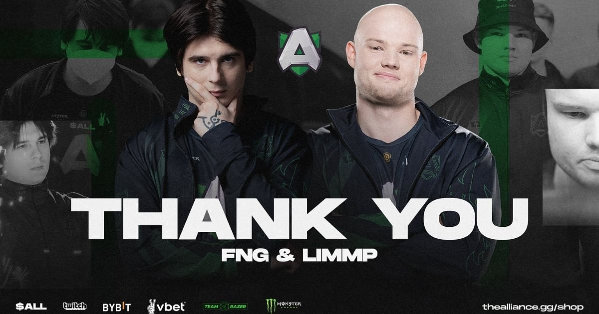 Alliance is down to three players after Limmp and fng's departure