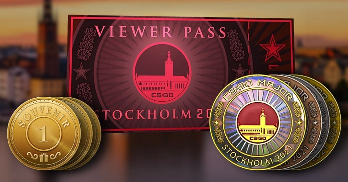 CS:GO Releases PGL Major Stockholm Viewer Pass, Team Stickers, and Team Patches