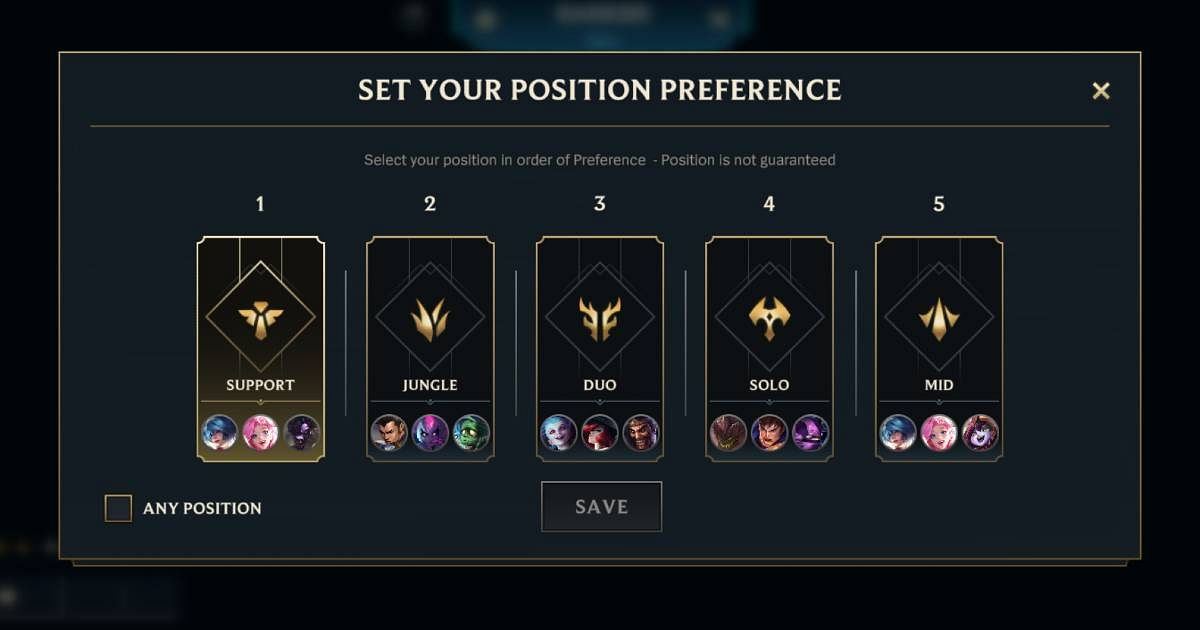 Wild Rift to Add Position Preference Feature in Unranked Matches