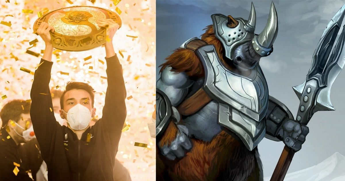 Collapse's Magnus was an important part of Team Spirit's victory at TI10