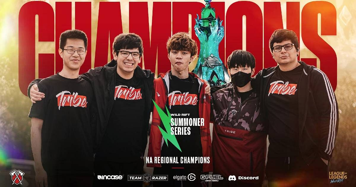 Tribe Gaming Won the Wild Rift Summoner Series Finals 2021