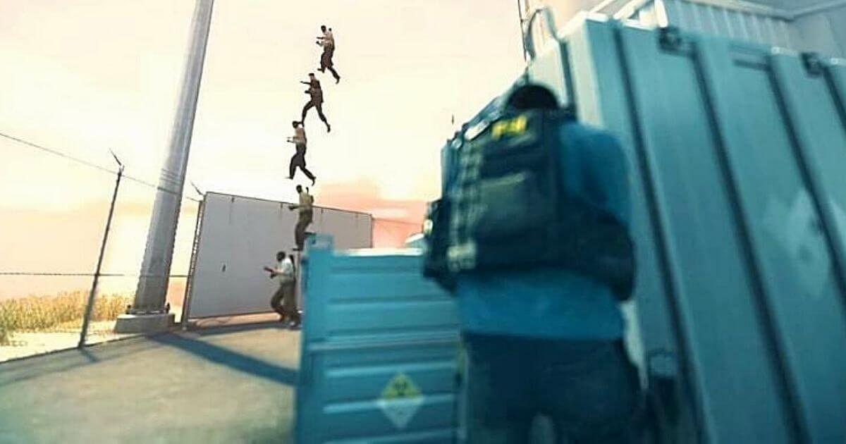 CS:GO Players Execute A Five Man Runboost On Nuke