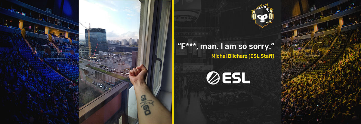 Fan Reaction to Cancelled IEM Katowice Event for Audience goes Viral