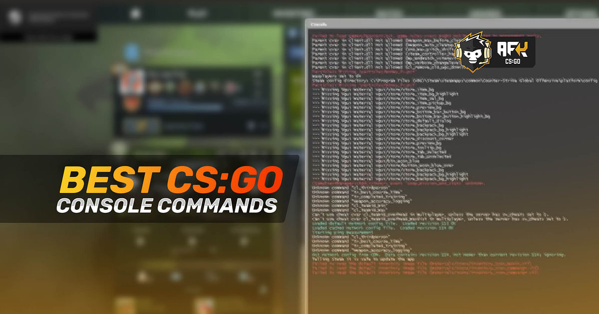 CS:GO Console Commands - Most Useful Ones in 2021