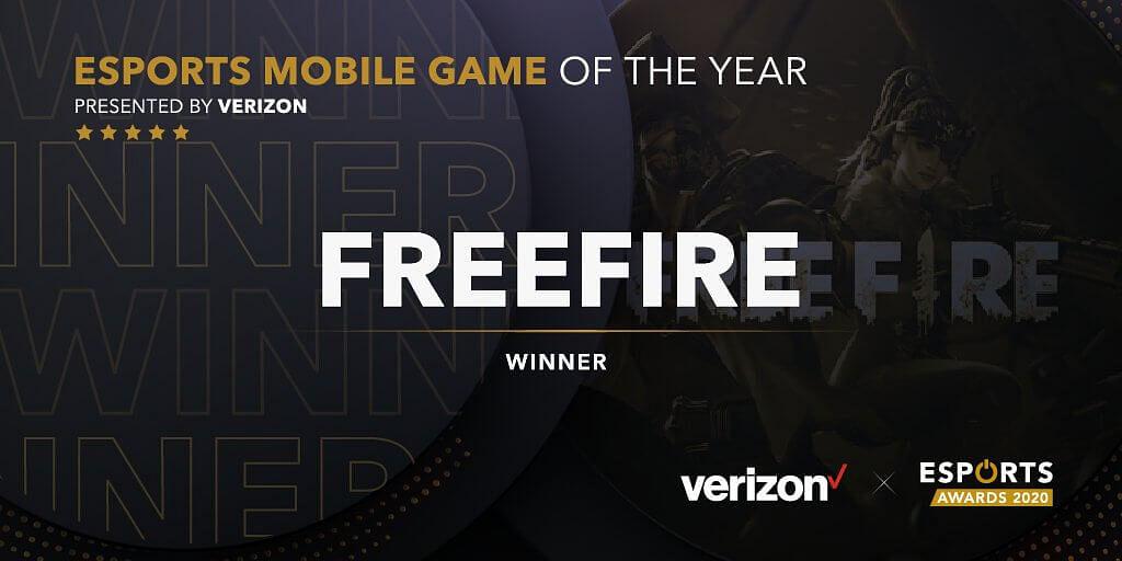 Esports Awards 2020: Zuxxy and Garena Free Fire Win Big