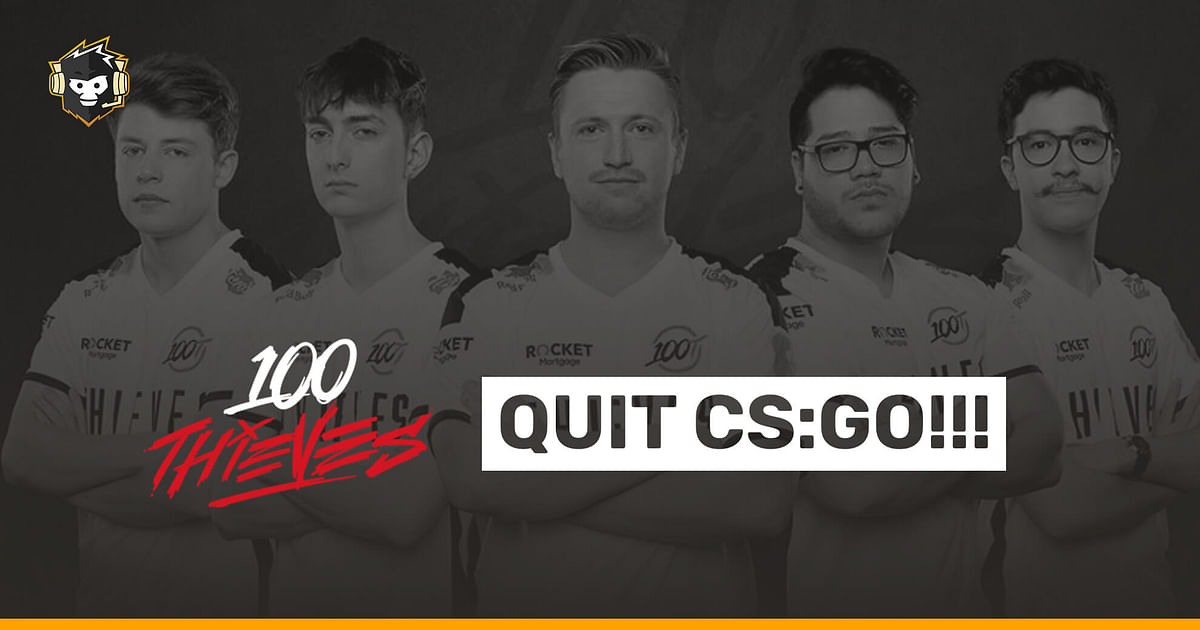 100 Thieves to Reportedly Leave CS:GO