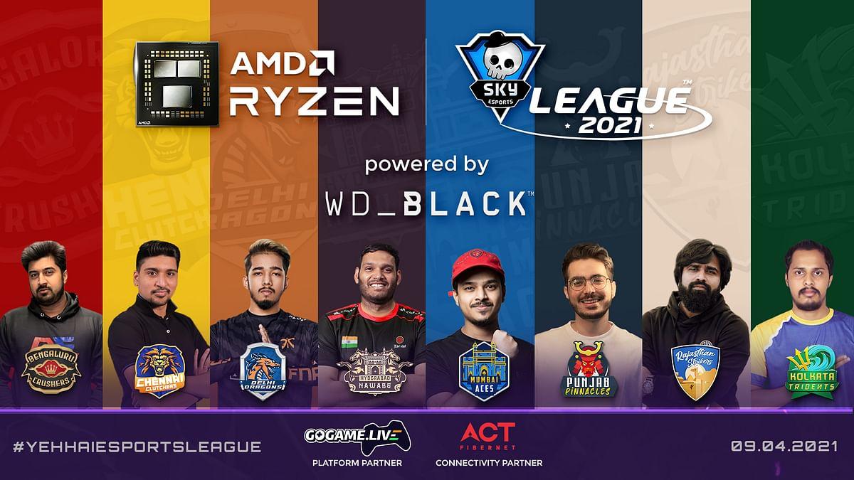 Skyesports Announces the AMD Ryzen Skyesports League 2021
